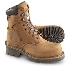 "The fact that these boots are referred to as ""super loggers'' should indicate that they are among the highest possible quality logger typed boots on can get. The design of this work boot type is one that ensures improved stability by the use of extreme traction applicable to all terrain types."