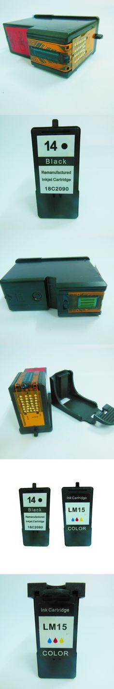 Cartridge For Lexmark 14 15 Black & Color Ink Cartridges for Lexmark Z2300 Z2320 X2650 X2600 X2670 Printer