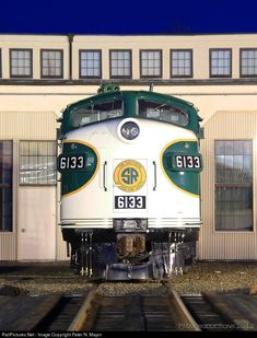 Southern Railway EMD FP7 at Spencer, North Carolina by Peter N. Mayor
