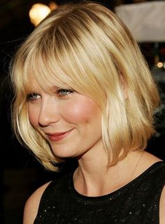 Short Bob Hairstyles with Bangs for Fine hair - Hair Tutorials Bob Hairstyles With Bangs, Thin Hair Haircuts, Cool Haircuts, Hairstyles Haircuts, Cool Hairstyles, Popular Haircuts, Short Haircuts, Hairstyle Ideas, Beautiful Hairstyles