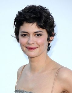 short curly pixie cut for round faces