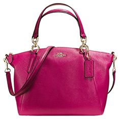 Coach Bnwt F36675 Small Kelsey Satchel Cranberry Leather Cranberry Pink Cross Body Bag. Get the trendiest Cross Body Bag of the season! The Coach Bnwt F36675 Small Kelsey Satchel Cranberry Leather Cranberry Pink Cross Body Bag is a top 10 member favorite on Tradesy. Save on yours before they are sold out!
