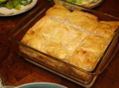 Spinach Pie (Spanakopita Casserole) #recipe