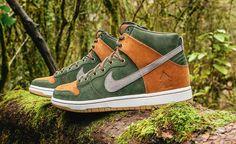 newest 24912 90aea Nike SB x Ithaca skate shop Homegrown Dunk High.