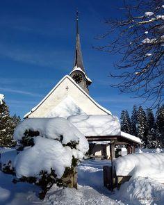 Röthenbach im Emmental, (Kirche Würzbrunnen) German Names, Hotel Pennsylvania, Central Europe, Homeland, Pretty Pictures, Winter Wonderland, Switzerland, Places To Visit, Germany