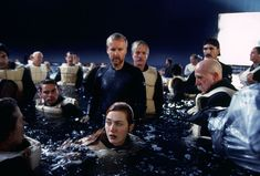 "The water was 3 feet deep.  | 33 Things You Didn't Know About The Movie ""Titanic"""