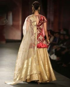 Embroidered Ivory and Maroon Lengha Set Anju Modi Collection Velvet Tops, Designer Sarees, Saris, Anarkali, Ministry, Ivory, Victorian, Wedding, Clothes