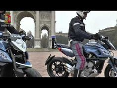 Police motorcyclists in Milan are now equipped with MV Agusta Rivale 800s!