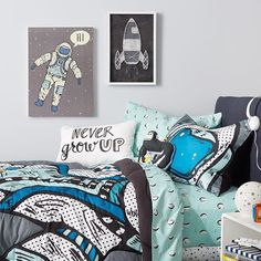 Say hello to the bedroom of your mini astronaut's dreams. Shop Pillowfort, our new home collection for kids, via our profile link. #TargetStyle