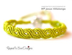 Exotic Twisted Path Bracelet Micro-Macrame TUTORIAL with VIDEO