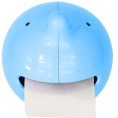 Wiper Toilet Roll Holder Blue, £13, now featured on Fab.