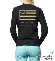 In #KKG we trust #Kappa #Sorority | Made by University Tees | www.universitytees.com