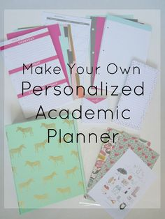 Courtney's Little Things: Academic Planner Set Up                                                                                                                                                      More