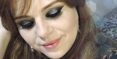 Make, Coisa e Tal - Notícia: MAKEUP TUTORIAL - MAQUIAGEM COM GLITTER AZUL E ESFUMADO #maquiagem #makeup #azul #blue #ideias #passoapasso #tutorial #tutorialdemaquiagem #olho #olhoscastanhos #make