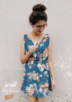 O amor esta no ar.  #etiquetaamei #lojaamei #vestido #amor #lindo #cute #flores