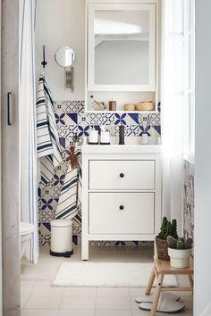 Most Popular ikea bath room hemnes Bathroom Tile Designs, Farmhouse Bathroom Decor, Decor, Ikea, Ikea Bathroom, Home, Ikea Bath, Ikea Bathroom Accessories, Home Decor