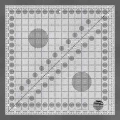 Creative Grids Turn-a-Round Quilting Ruler 16 1/2 Inch Square (CGR16)