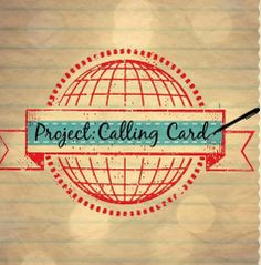 This is my organization, Project: Calling Card. Please like us on facebook & tweet us @p_callingcard. We're in need of cards, drawings, and letters that will be sent to elderly & vets. We currently have a contest going on and you can win a $25 gift card to target!