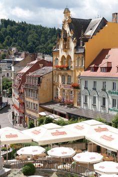 Karlovy Vary, Czech Republic - We loved it here. Beautiful!!!