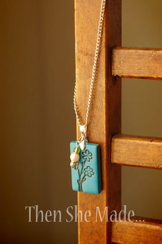 Then she made...: Mother's Day Pendant Tutorial
