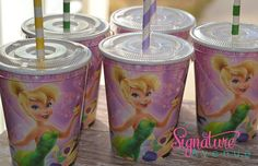 Tinker Bell Birthday Party CupsSet of 8 by SignatureAvenue, $12.40