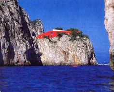 ARCHITECTURE & INTERIOR DESIGN: Casa Malaparte - in Capri (1937)