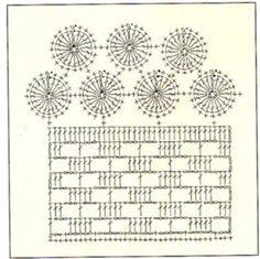 Pano de Prato em Crochê -  /  Dish cloth Crochet - 2 =