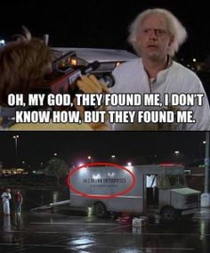 back to the future funny