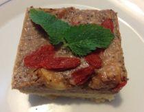 Jablkovo-kuskusový koláč s agarom