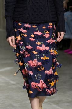 Mary Katrantzou at London Fall 2017 (Details)