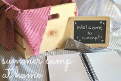 Summer camp at home: something new to do every week!