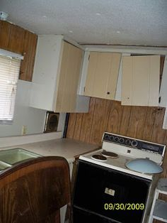 Mobile Home Transformation Total Mobile Home Transformation - Mobile and Manufactured Home LivingTotal Mobile Home Transformation - Mobile and Manufactured Home Living Mobile Home Redo, Mobile Home Repair, Mobile Home Makeovers, Mobile Home Living, Mobile Home Decorating, Home And Living, Decorating Ideas, Decor Ideas, Mobile Home Renovations