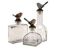 Flessenset Bird, 3-delig