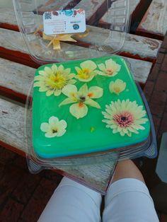 Flores varias gelatina para mami