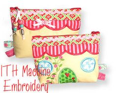 Dreamhouse Bag ITH Machine Embroidery Designs by DerStickbaer