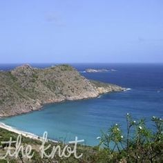 Honeymoons Travel: St. Barths Honeymoons from The Knot