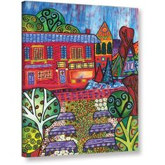 ArtWall Debra Purcell Pet Store (Same As 006) Gallery-Wrapped Canvas, Size: 36 x 48, Multicolor