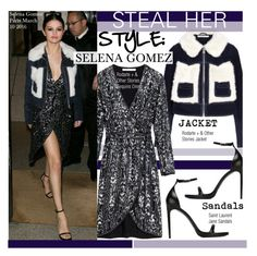 """Steal Her Style-Selena Gomez"" by kusja ❤ liked on Polyvore featuring Rodarte, Yves Saint Laurent, selenagomez, Stealherstyle and celebstyle"