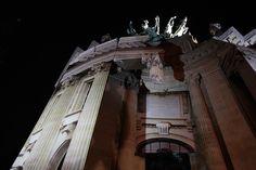 pierre delavie distorts grand palais' architecture for urban lies