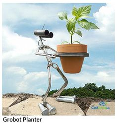 Grobot Planter for more details visit http://coolsocialads.com/grobot-planter-47391