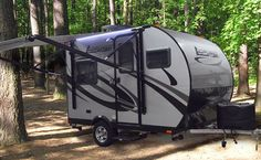 "LivinLite 11FK travel trailer is an ""all-aluminum and composite"" marvel, the smallest from the series of Camplite campers, designed for high level of comfort and ambiance"
