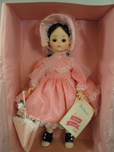 New In Box Never Opened Madame Alexander Rebecca 14'' doll #1585  vintage 1980s #MadameAlexander