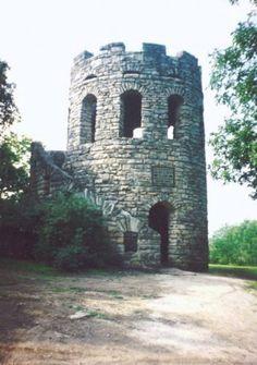 Clark Tower, city park, Winterset, Iowa