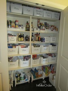 10 ways to use IKEA boxes for storage. 10 ways to use IKEA boxes for storage. 10 ways to use IKEA bo Organisation Ikea, Kitchen Organization Pantry, Kitchen Storage, Organized Pantry, Ikea Pantry Storage, Pantry Room, Cosmetic Organization, Pantry Ideas, Organizing Ideas