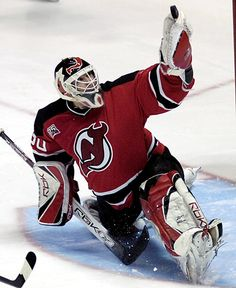 NHL Martin Brodeur, Montreal, Qubec, CAN played for St. Louis Blues and New Jersey Devils