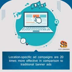 To drive local customers to your business, instead of traditional advertisement, you should focus on running location-based advertising campaigns Advertising, Ads, Digital Marketing, Campaign, Banner, Traditional, Running, Business, Banner Stands