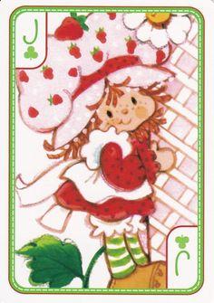 Strawberry Shortcake Playing Card