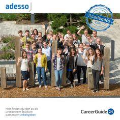 """Die Adesso AG ist einer der führenden IT-Dienstleister im deutschsprachigen Raum und bietet dir verschiedene Einstiegsmöglichkeiten in deine Karriere. Bewerbungstipps und mehr findest du in unserem <a href=""""https://www.careerguide24.com/de/Blog"""" target=_blank>Karriere Blog</a>."""