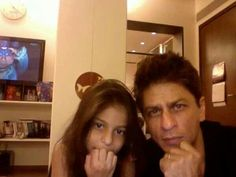 SRK wid Suhana daughter