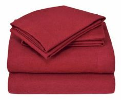 Elite Home Winter Nights Flannel 100-Percent Cotton 4-Piece Sheet Set, Queen, Burgundy by Elite Home. $32.66. Fitted sheet is fully elasticized for a secure fit; 14-inch pockets fit mattresses up to 16 -Inch deep. Queen size 4-piece sheet set includes a 90-by-102 inch flat sheet; two 20-by-30 inch standard size pillowcases and a 60-by-80 inch fitted sheet. Constructed with amazingly soft 100-percent brushed cotton that breathes keeping your body at a more comfortable ...